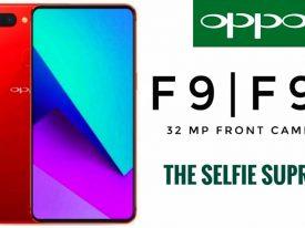 Oppo F9, Smartphone Selfie Sentris Kamera Ganda